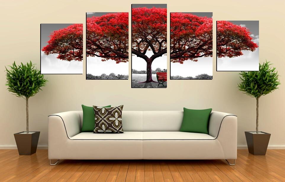 moderne arbre peinture achetez des lots petit prix moderne arbre peinture en provenance de. Black Bedroom Furniture Sets. Home Design Ideas