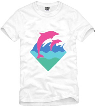 Popular Pink Dolphin T Shirt-Buy Cheap Pink Dolphin T Shirt lots ...