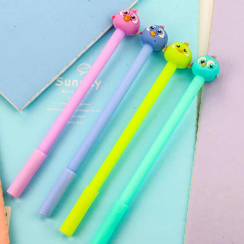B5 creative stationery cute bird creative pen pen candy color pen water 0.5mm black