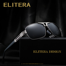 ELITERA Top Quality Brand Designer Cool Polarized Mens