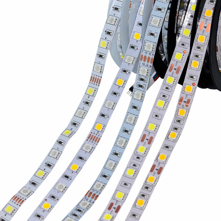 Zigbee, tira de luces Led RGBW con Control por aplicación, controlador inteligente para el hogar, luces de cinta a prueba de agua con ZLL Echo Plus y Centro de Iluminación