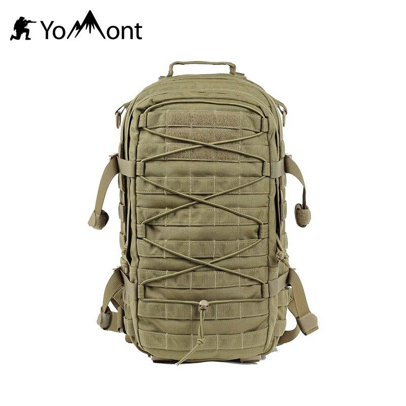 YoMont 1000D 25L Militaire Tactique Étanche Armée Sac À Dos Pour la Randonnée T