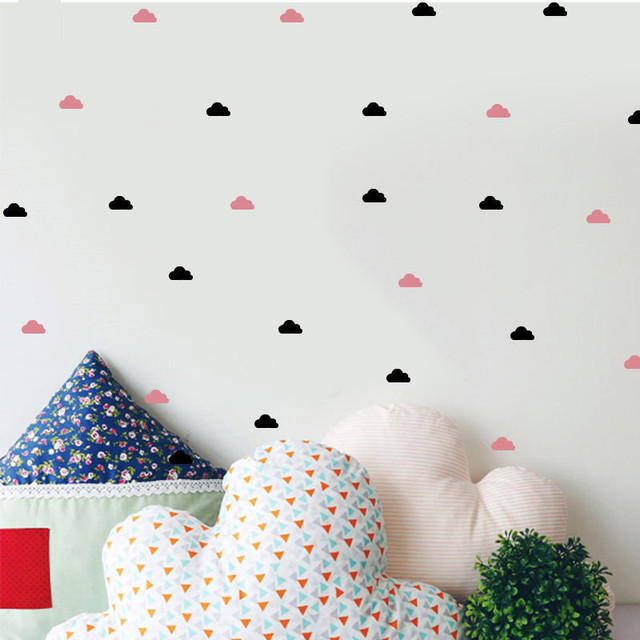 Cute Little Cloud Wall Decal Wall Stickers Diy Home Decoration Wall ...