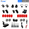 TUOWEI For GoPro Screw Adapter Backpack Clip Bridge Adapter Conver Mount For GoPro Hero 6 5