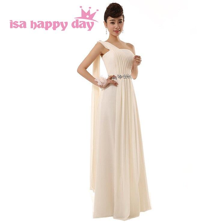 6f205ceb8 Las mujeres país formal champán griego hombro tamaño más largo de baile de  graduación vestidos elegantes vestidos