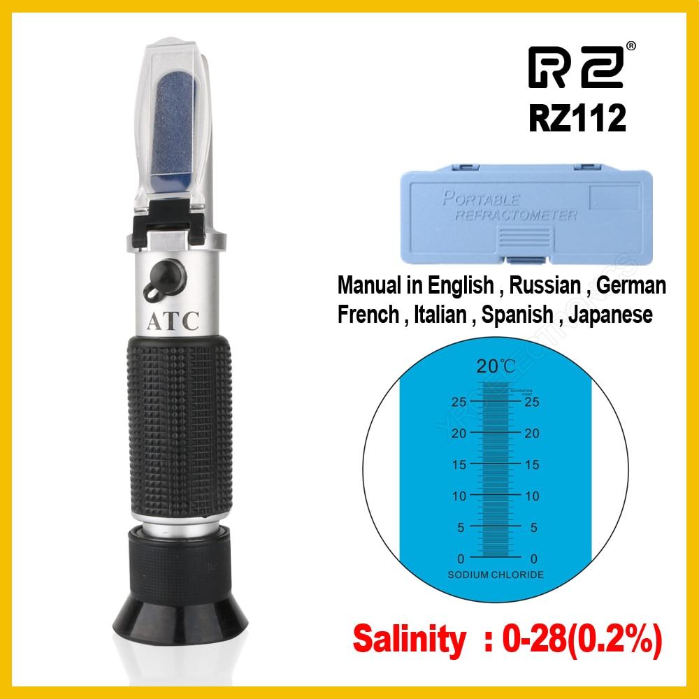 Rz Refraktometer Optisches Salzgehalt Konzentrationsmesser Salz