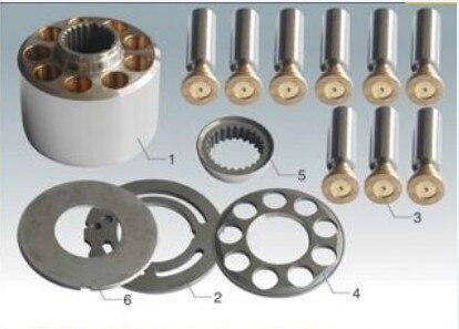 NACHI Piston Pump Parts PVD-2B-50P plunger pump hydraulic oil pump cylinder block valve plate