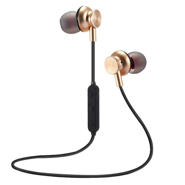 qijiagu  Bluetooth headphones  Wireless Headphone music headset neckband sport earphone CVC 6.0 with MIC