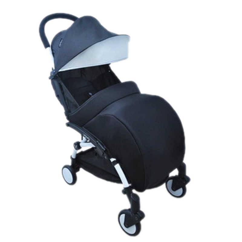 รถเข็นเด็ก Footmuff ขาสำหรับทารก yoya รถเข็นเด็กถุงเท้าเท้าแหลมอบอุ่น keeper ฤดูหนาวสีดำสีชมพูสีม่วงมิกกี้มินนี่