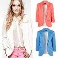 Мода женские пиджаки куртка пальто бренд, Леди Большой размер семь - рукав сплошной костюмы XXL F4299
