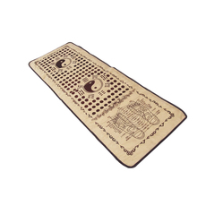 (Russia only)Foot massage pad medialbranch cobblestone gravel foot massage mat stone blanket