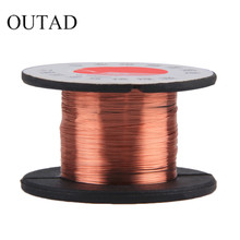 2pcs New 0.1MM Copper Soldering Solder PPA Enamelled Repair Reel Wire Fly Line 0.1MM Copper Solder Wire free shippng