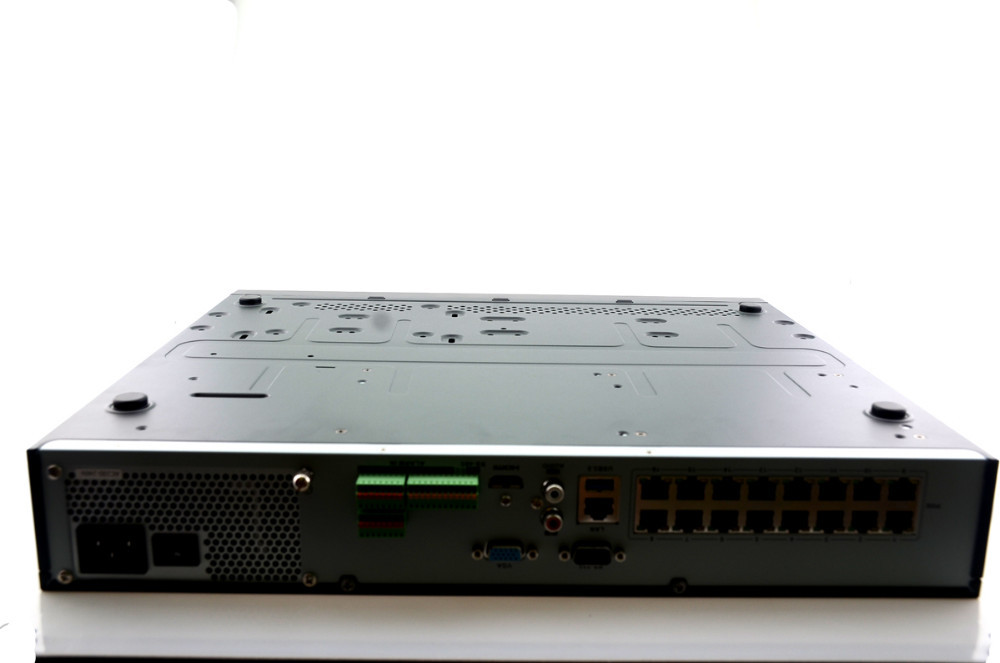 NVR 16CH POE Hikvision DS-7716NI-E4/16P 16CH NVR with 16POE Interface 4SATA for HDD