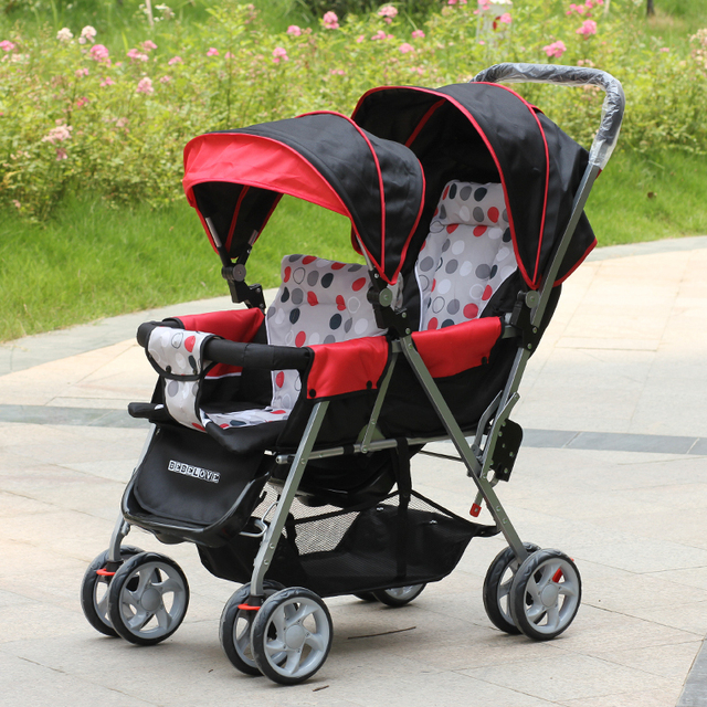 Generally Shipping by EMS,Fedex or EMS,Twin Pram,CE Standard,Made in China,Twins Buggy,Luxury Lightweight Newborn Twin Pushchair