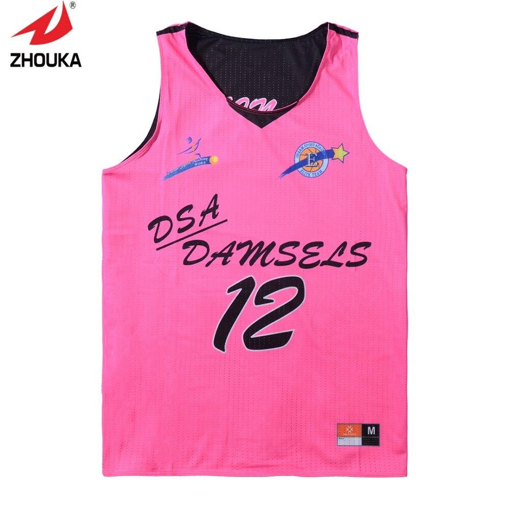 High Quality Reversible sleeveless custom men s basketball uniforms