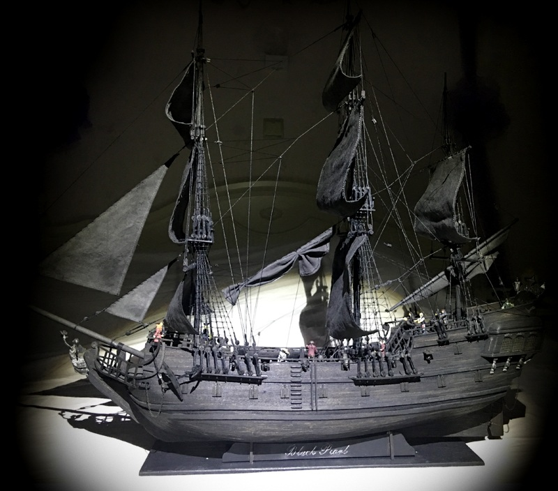 Us 1845 10 Offnew Black Pearl Pirates Ship Wooden Model Kit 80cm Length In Model Building Kits From Toys Hobbies On Aliexpresscom Alibaba