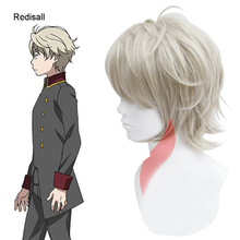 ALDNOAH ZERO Cosplay Wig SLAINE TROYARD Short Synthetic Hair for Adult