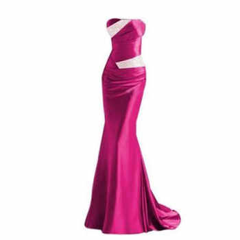 Mermaid Sweetheart Bridesmaid Dresses 2020 Party Gowns Long Formal Beaded Prom robe de soiree Wedding Guest Dresses In Stock