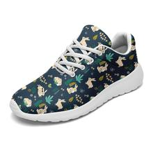 Green Rabbit Walking Shoes Custom Designer Shoes Customized