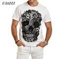 E-BAIHUI mens t рубашки моды Череп 3d майка мужчины Хип-хоп Мужчины Футболка Повседневная топы тис Фитнес Скейт Swag марсело burlon Y049
