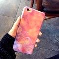 Современная мода Синий Луч Света Ясно Mobile Phone Case For iPhone 7 7 плюс 6 6 S плюс Увядает Мягкий розовый Прозрачная Крышка Капа Conque
