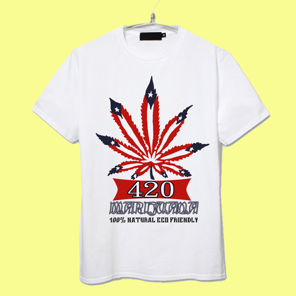 Design t shirt reggae - 100 Natural Eco Friendly 420 Reggae Rasta Festival Design T Shirt Men Women Kids All Sizes In T Shirts From Men S Clothing Accessories On Aliexpress Com