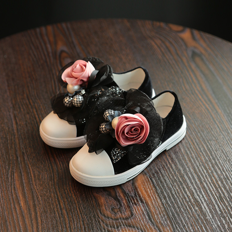2018 New Flowers Cut Out Dirty Casual Shoes For Women Canvas Shoes Top Beathable Summer Shoes Girls Female Flat Shoes size 26-33 e lov women casual walking shoes graffiti aries horoscope canvas shoe low top flat oxford shoes for couples lovers