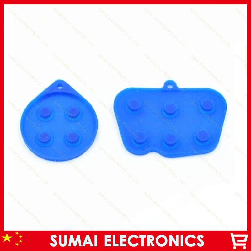 ∞2 Unidades 2 en 1 caucho conductivo contacto botón almohadillas de ...