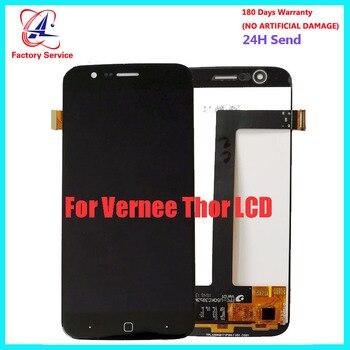5,0 дюймов для 100% Оригинальный ЖК-дисплей vernee thor + кодирующий преобразователь сенсорного экрана в сборе Замена для Vernee thor Phone lcd