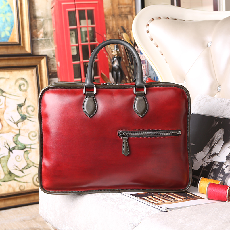 7da7690d1e7f Hot sale Leather Business Briefcases For Men