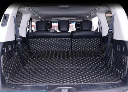 Buenas esteras! Alfombras especiales de tronco para Infiniti QX56 8 asientos 2015-2009 alfombras impermeables del cargador cargo liner para QX56 2011, envío libre