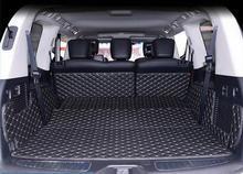 Buenas esteras! esteras tronco especial para Infiniti QX56 8 asientos 2014 bota impermeable alfombras cargo liner para QX56 2013-2010, envío gratis