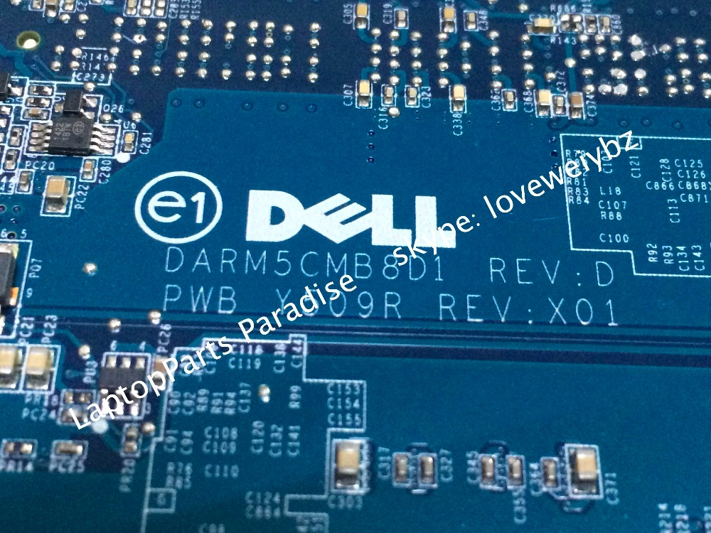Dell Studio XPS 1645 Series i-Core CPU Motherboard 0WDH9C WDH9C 7