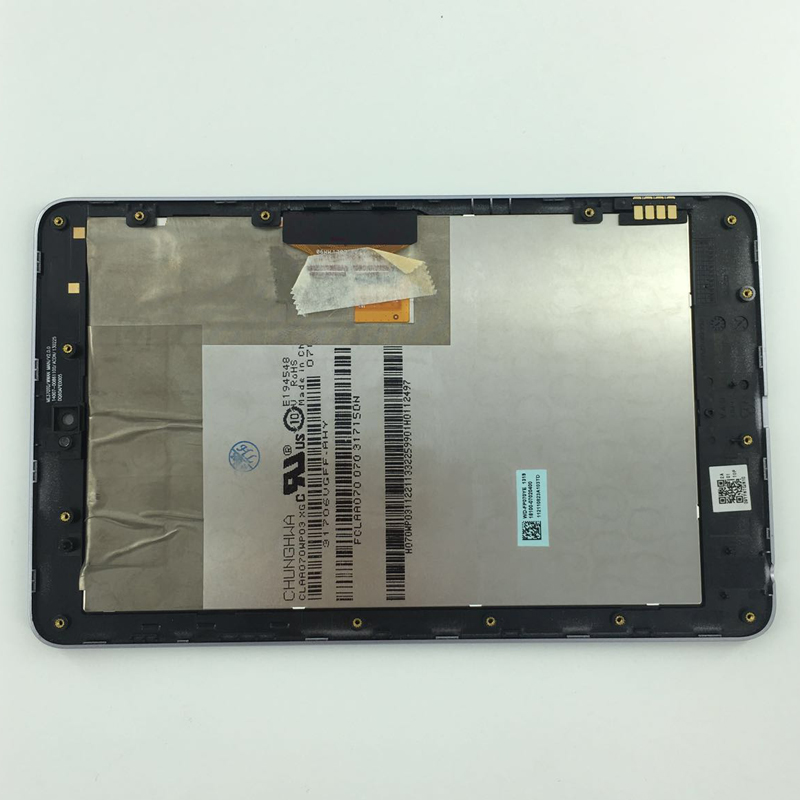 new LCD display+Touch Digitizer Screen Assembly with frame for ASUS Google Nexus 7 nexus7 2012 ME370TG nexus7c 3G version 7 inch for asus me173x me173 lcd display touch screen with digitizer assembly complete free shipping