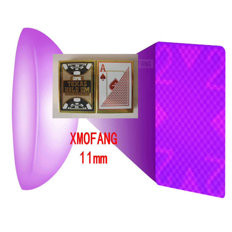 Maison de poker magique-XMOFANG GK0170 costume de lunettes de vue, jeu, costume de poker de Perspective. boîte de lentilles de Contact. accessoires magiques. carte, CL