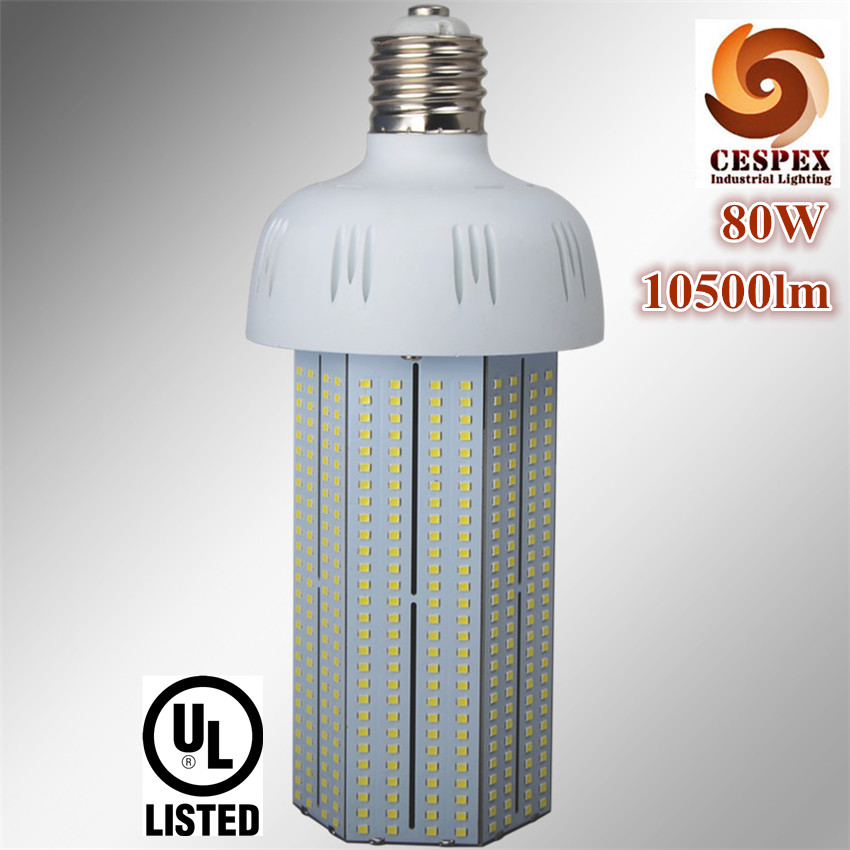10500lm high luminous output CE ROHS SAA PSE UL E39 E40 80W LED corn bulb light replace 250W 300W metal halide vapor lamp ce emc saa rohs gs ul listed commercial 100w commercial led pendant lights