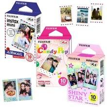 정품 Fujifilm Instax Mini 8 필름 3 팩 Airmail/ Candy Pop/ Shiny Star For Fujifilm Instant Mini 9 11 90 링크 프린터