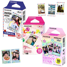 Genuine Fujifilm Instax Mini 8 Film 3 Packs Airmail/ Candy Pop/ Shiny Star For Fujifilm Instant Mini 9 11 90  LINK  Printer