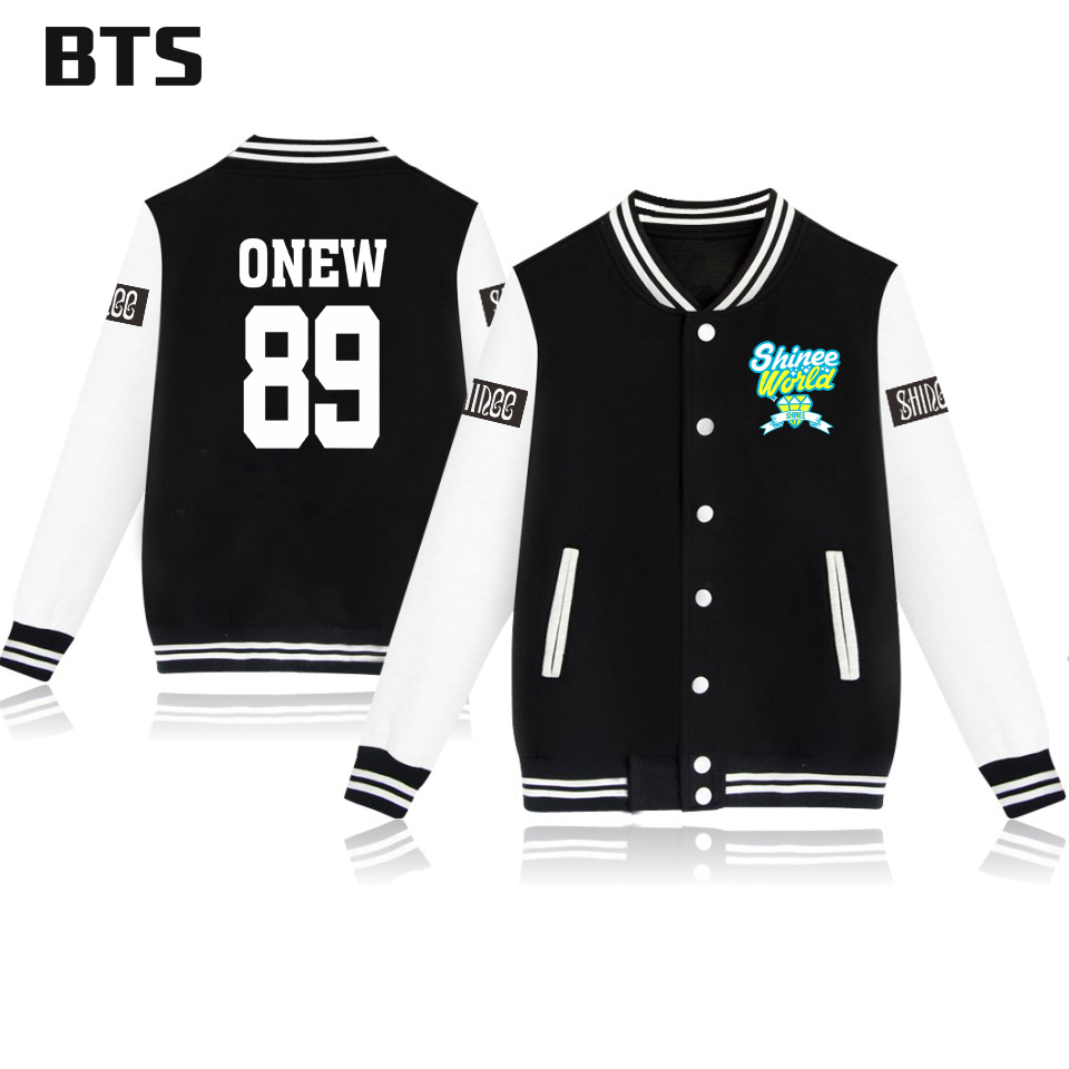BTS Shinee Jonghyun Korean Kpop Winter Jacket Women Plus Size Fashion Ladies Female Harajuku Casual Streetwear Jacket Women 4xl