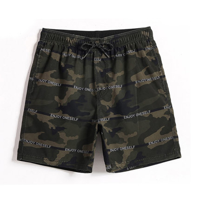 Brand Quick Dry Men Beach Swimwear Camouflage Swimsuits Mens Swimming Board  Surf Shorts Male Camo Running 77bab7d5b