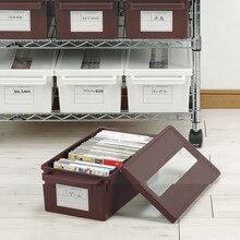 Дисковая коробка для хранения пыли Dvd CD диск PS4 игры подставка для дисков коробка игра подставка для дисков стойка с регулировочным разделителем маленькая Большая полка для cd-дисков