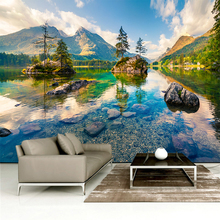 Custom any size  wall mural wallpapers Modern fashion mountain Alpine, flowing water, Wall sticker YBZ064 export quality standard without any additive 100g harvest in remote mountain 99% cracked cell wall pure pine pollen tablets