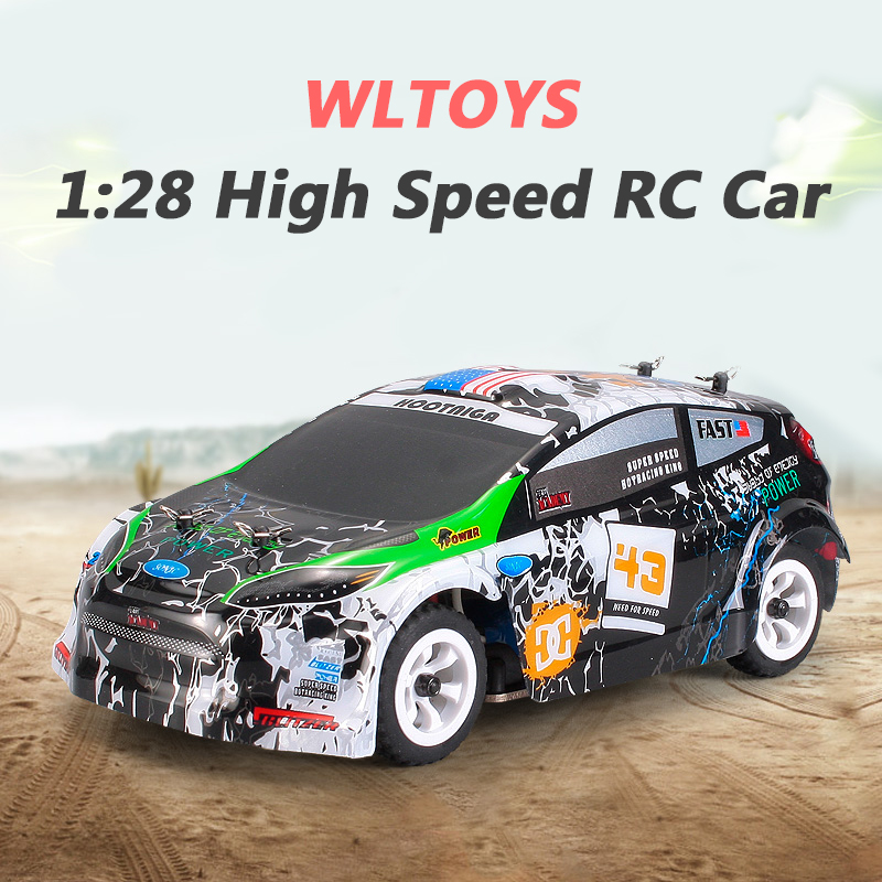 Wltoys K989 RC Car 1:28 Brushed 30KM/H High Speed 4WD RTR RC Drift Car Remote Control Car Radio Control Voiture Telecommande