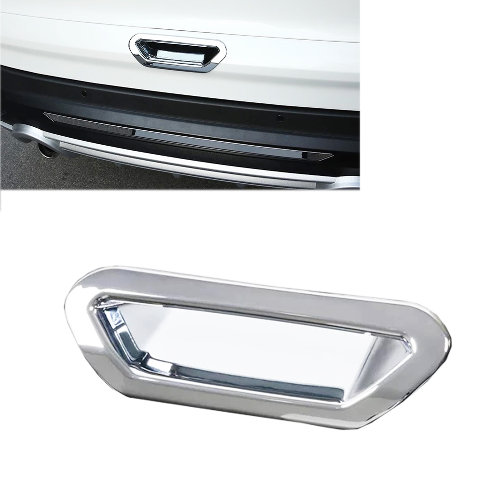 Chrome rear trunk tailgate door handle bowl cover trim - 2013 ford escape interior door handle ...