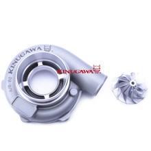 """Kinugawa Kit Turbo Compressor 4 """"Onda Anti Capa w/Roda do Boleto para Garrret GTX3076R"""