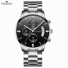 Luxury Women Watches Ladies FNGEEN Men Luxury Casual Watch Q