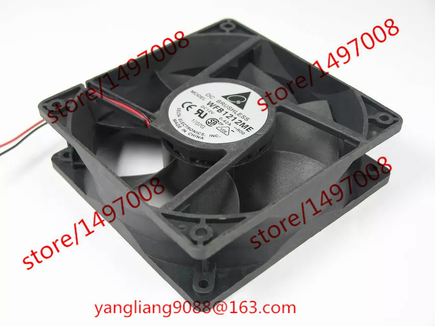 DELTA WFB1212ME R00 DC 12V 0.42A 120x120x38mm Server Square fan цена