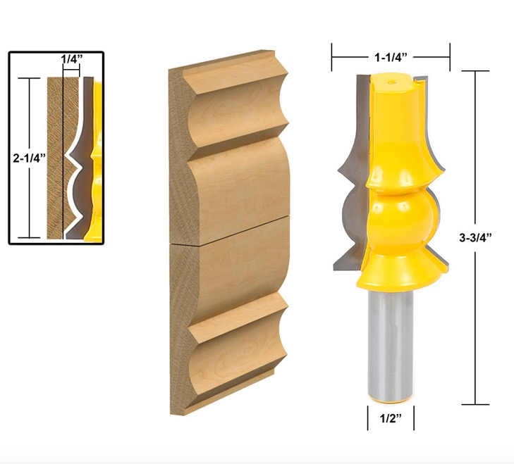 SHK:12.7mm --Woodworking Skirting Line Handrail Ceiling Milling Cutter Engraving Machine Cutter Knife футболка shk mode shk mode sh019ewrjs36