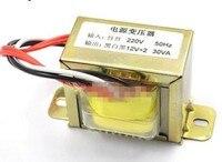 Novo e original 30W Dupla 12V 30W2*12V Transformador Transformador De Potência De Entrada 220V 50Hz /saída Dual 12V Sensor|Sensores ABS| |  -