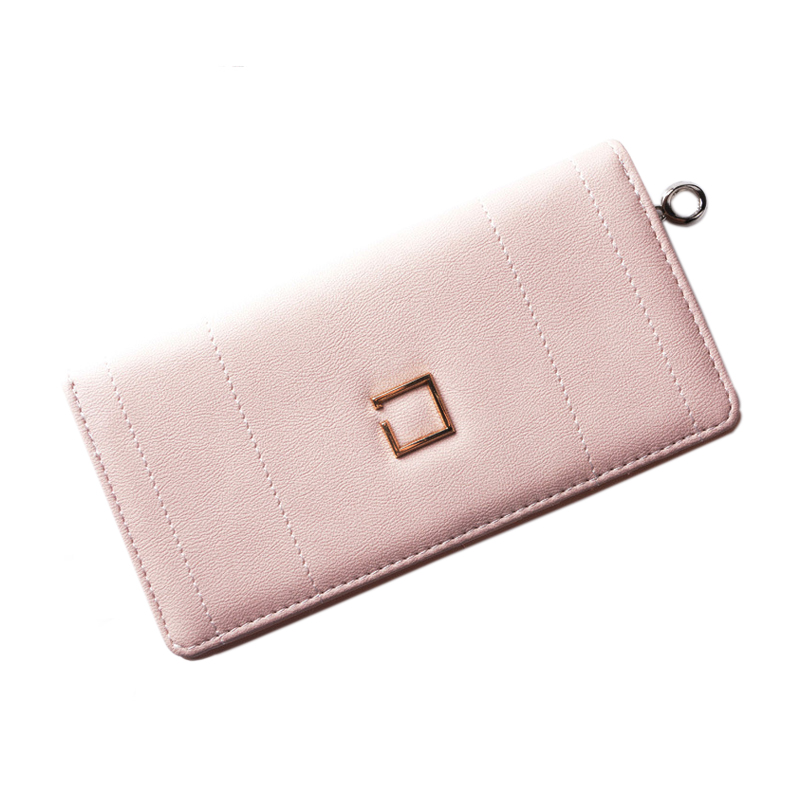 Women Wallet Leather Card Coin Holder Money Clip Long Phone Clutch 2017 Hot Sale Candy Color Famous Brand Photo Female Purse